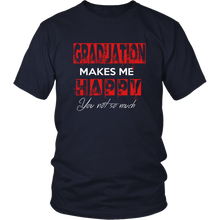Load image into Gallery viewer, Graduation Makes Me Happy - Senior Class of 2019 Shirts - Navy