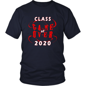 Game Over - Senior Class Shirts Ideas