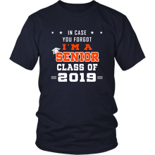 Load image into Gallery viewer, I'm A Senior - Class of 2019 Slogan - Navy