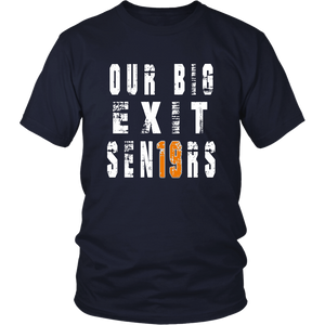 Class shirts 2019 - Our Big Exit - Navy
