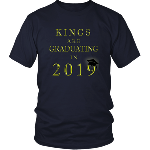 Kings Are Graduating In 2019 - Class of 2019 Shirt - Navy