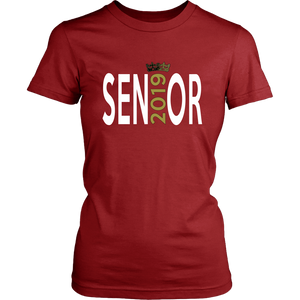 Senior - Class of 2019 T shirts - Red