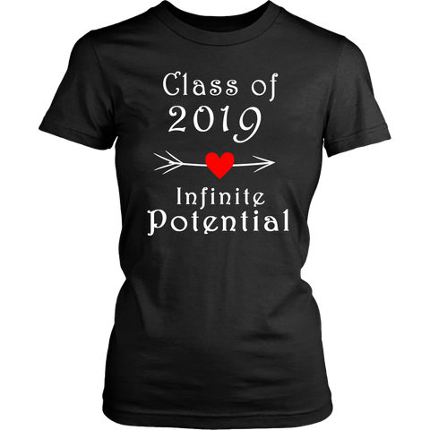 Infinite Potential Shirt - Senior Class of 2019 Slogans - Black