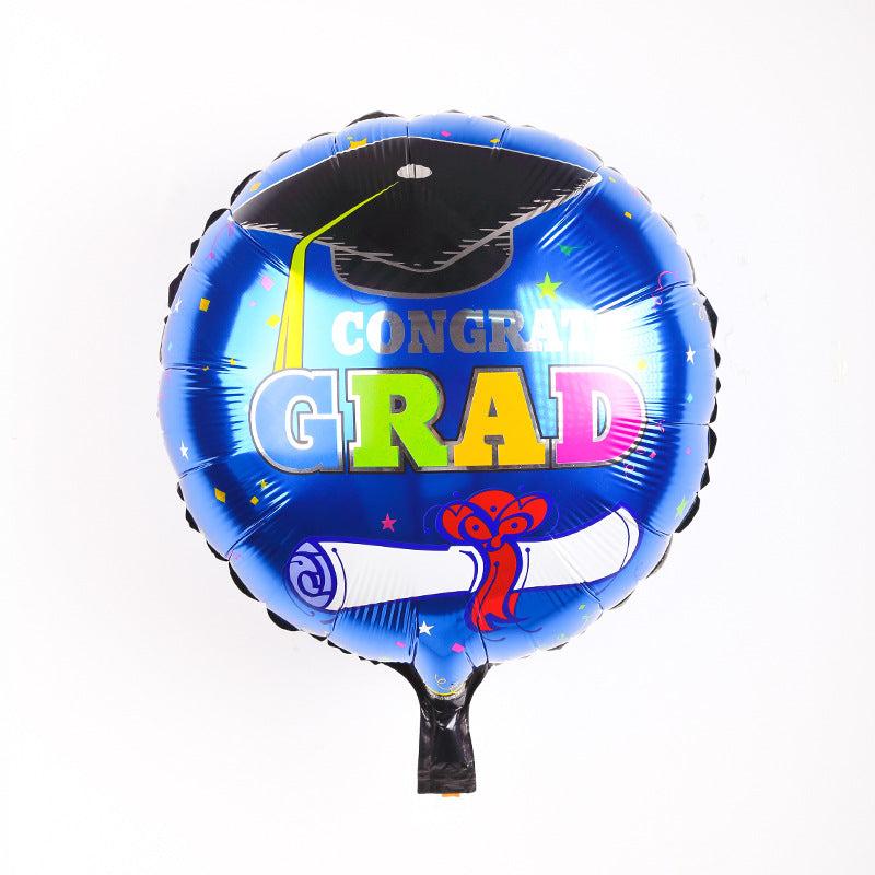 Graduation party foil balloons