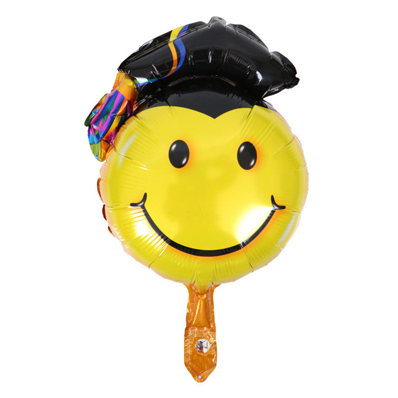 Graduation foil balloons - Dr. Head