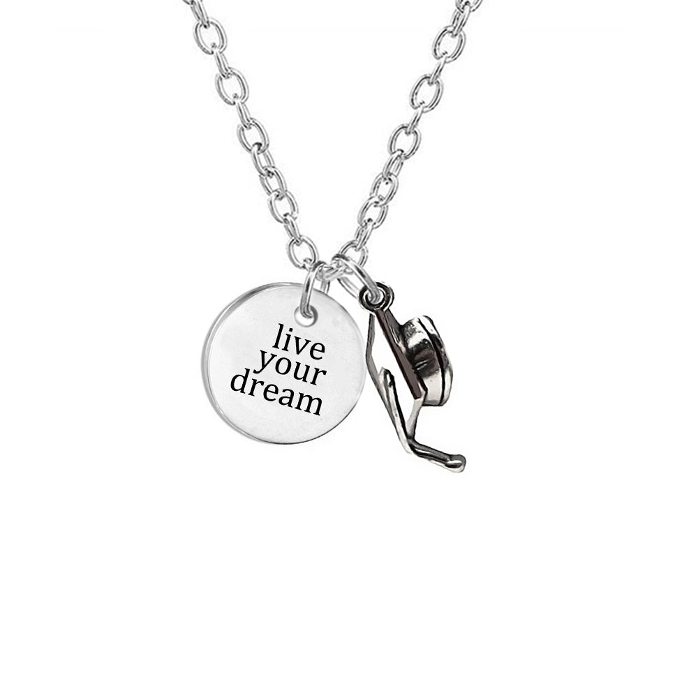 Graduation 2018 my class collection quote pendant