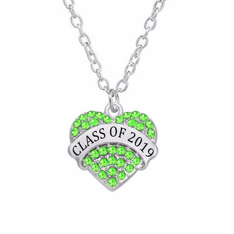 Green Heart - Graduation necklace 2019