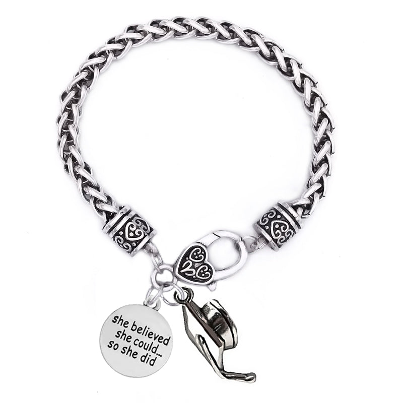 Graduation quote bracelet class 2018 jewelry