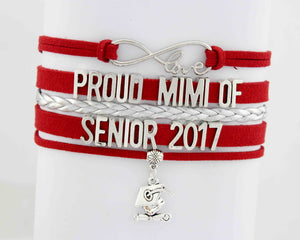 Infinity Love Mimi of Senior 2017 Bracelet - My Class Shop