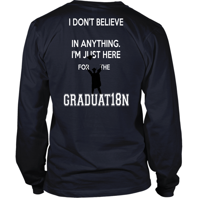 Senior 2018 shirts - Just For Graduation