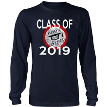 Load image into Gallery viewer, Born To Be Great - Class of 2019 Senior Shirts - Navy