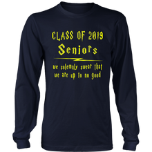 Load image into Gallery viewer, We Solemnly Swear - Senior 2019 Shirt - Navy