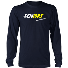 Load image into Gallery viewer, Seniors Eat Freshman - Class of 2019 Shirts Slogans - Navy
