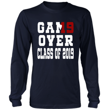 Load image into Gallery viewer, Game Over - Graduation T-shirts - Navy