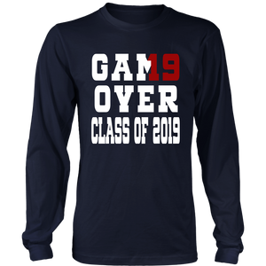 Game Over - Graduation T-shirts - Navy