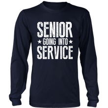 Load image into Gallery viewer, Senior Going Into Service - Senior 2019 Shirts - Navy