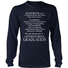 Load image into Gallery viewer, Senioritis - Senior T-shirts 2019 - Navy