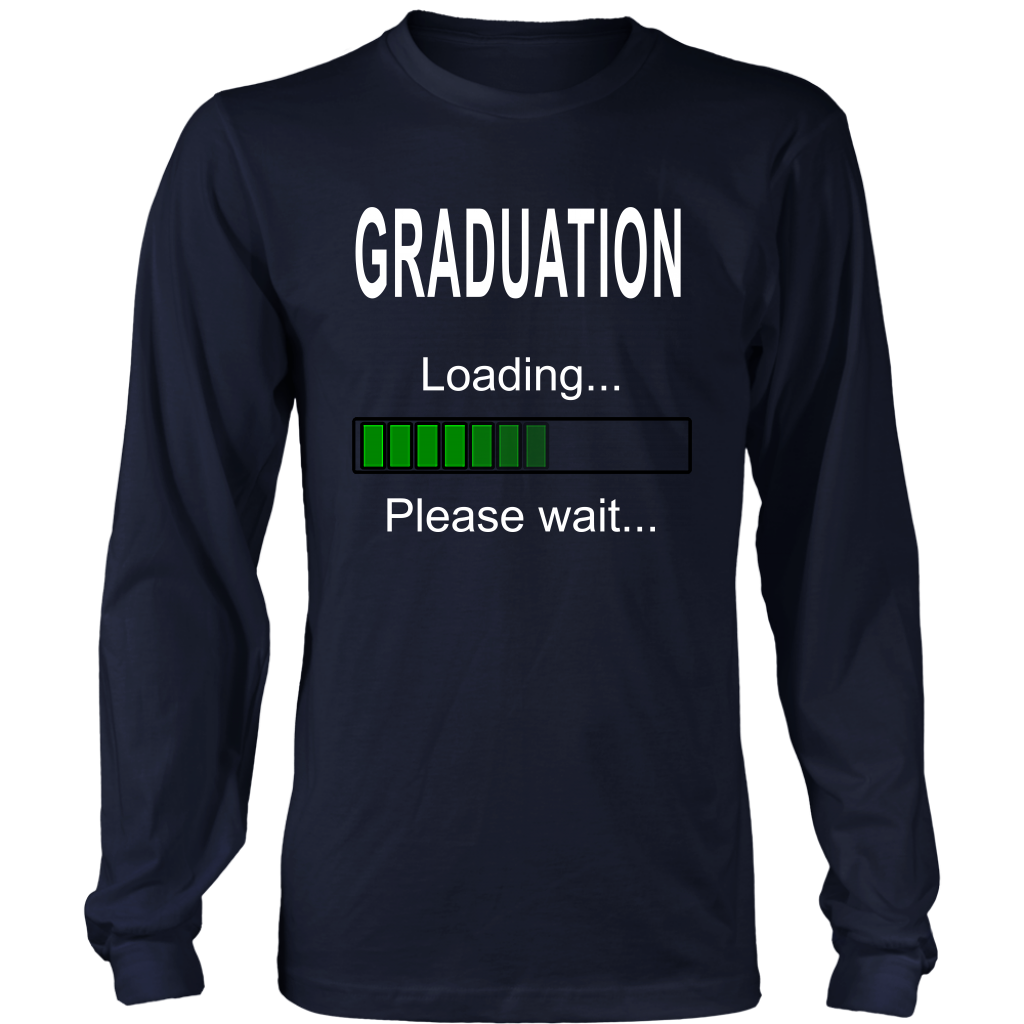Graduation Loading - 2019 Senior Long Sleeve Shirt
