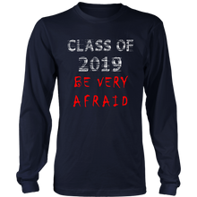 Load image into Gallery viewer, Class of 2019 t-shirts with slogans - navy