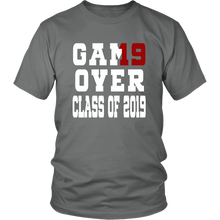 Load image into Gallery viewer, Game Over - Graduation Shirts - Grey