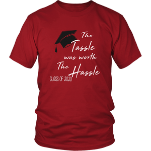 The Tassle Was Worth The Hassle - Class Of 2020 T-shirt Ideas