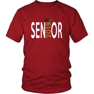 Class of 2019 shirt ideas - Sen19r - Red