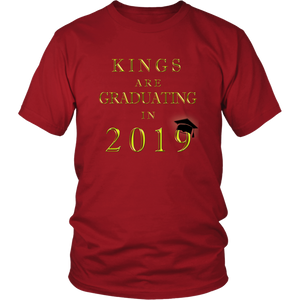 Kings Are Graduating In 2019 - Class of 2019 Shirt - Red
