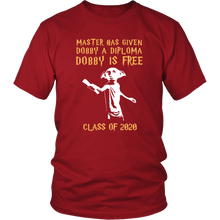 Load image into Gallery viewer, Master Has Given Dobby A Diploma - Class Of 20 Shirts