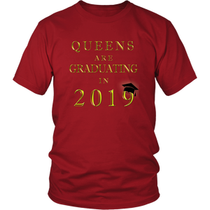 Queens Are Graduating In 2019 - Senior 2019 Shirt - Red