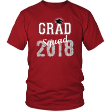 Load image into Gallery viewer, 2018 Grad Squad T shirts - Graduation Shirts For Family - Red