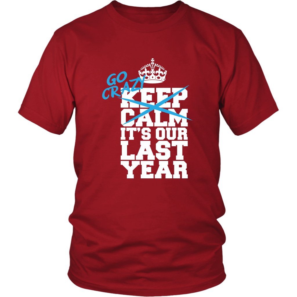 Go Crazy - Class Of 2019 Shirt Designs - Red