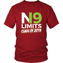 Load image into Gallery viewer, No Limits - Class of 2019 Senior Shirts - Red