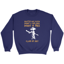 Load image into Gallery viewer, Class Of 2021 Sweatshirt - Dobby's Diploma