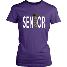 Load image into Gallery viewer, Senior - Class of 2019 T shirts - Purple