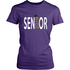 Senior - Class of 2019 T shirts - Purple