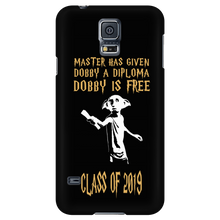 Load image into Gallery viewer, Dobby Is Free - Class of 2019 Phone Cases