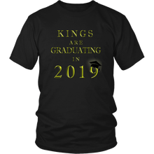 Load image into Gallery viewer, Kings Are Graduating In 2019 - Class of 2019 Shirt - Black