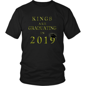 Kings Are Graduating In 2019 - Class of 2019 Shirt - Black