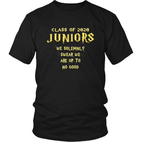 We Solemnly Swear - Class of 2020 T shirts - Black