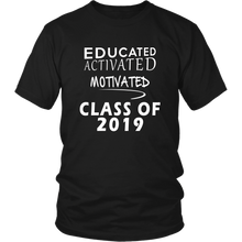 Load image into Gallery viewer, Class of 2019 t shirt slogans - Sen19rs shirt - Black