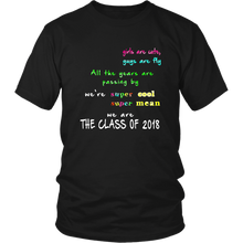 Load image into Gallery viewer, We are ready with our class-of-2018-t-shirt-slogans .