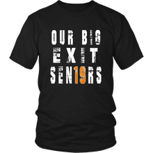 Load image into Gallery viewer, Class shirts 2019 - Our Big Exit - Black