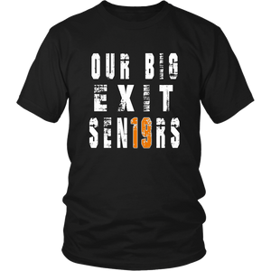 Class shirts 2019 - Our Big Exit - Black