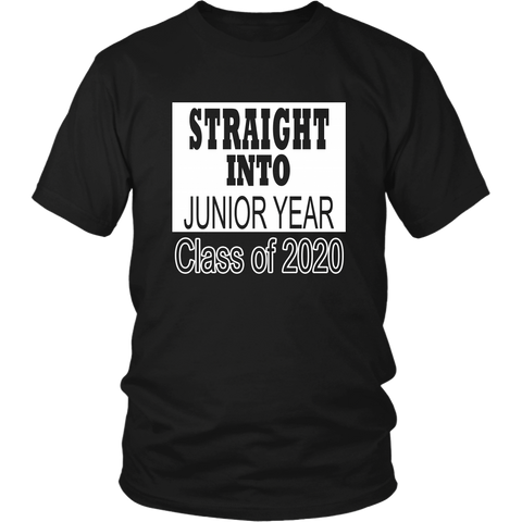 Straight Into - Junior Class Shirts - Black