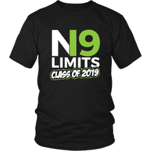 Load image into Gallery viewer, No Limits - Class of 2019 Senior Shirts - Black