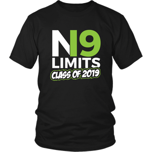 No Limits - Class of 2019 Senior Shirts - Black