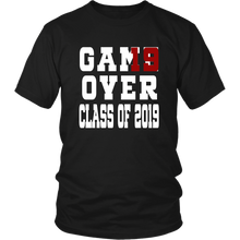 Load image into Gallery viewer, Class of 19 shirts - Game Over - Black