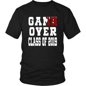 Class of 19 shirts - Game Over - Black