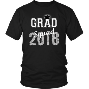 2018 Grad Squad T shirts - Graduation Shirts For Family