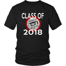 Load image into Gallery viewer, We love designing different class of 2018 shirts